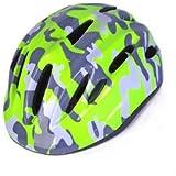 サイクリング自転車用ヘルメット 子供用ヘルメット、乗馬用スケートスクーターヘルメット、外出するティーンエイジャーのための優れた機器 スポーツ用保護ヘルメット (色 : Fluorescentgreen)