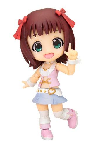 コトブキヤ キューポッシュ アイドルマスター 天海春香 ノンスケール PVC製 塗装済み可動フィギュア