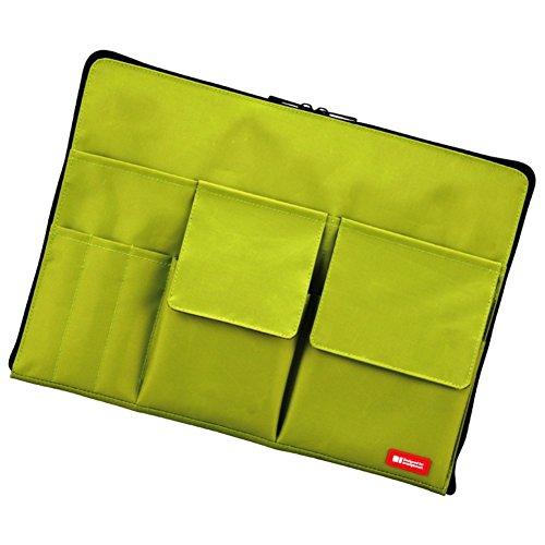 バッグインバッグ A4【黄緑】 A7554-6 リヒトラブ