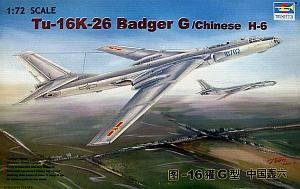 1/72 ツポレフ Tu-16k-26 バジャーG 爆撃機