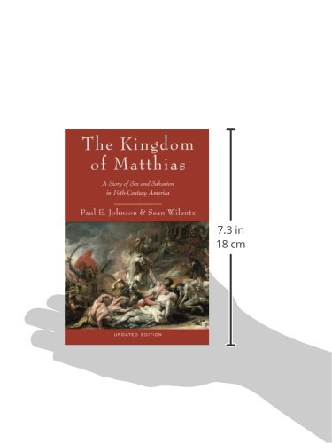 "an analysis of the kingdom of matthias written by paul e johnson and sean wilentz Supersummary, a modern alternative to sparknotes and cliffsnotes, offers high-quality study guides for challenging works of literature this 56-page guide for ""kingdom of matthias"" by paul e johnson and sean wilentz includes detailed chapter summaries and analysis covering 4 chapters, as well as several more in-depth sections of expert."