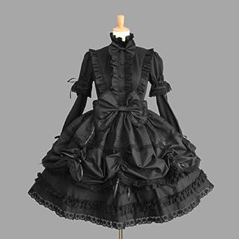 半袖の両方で着まわせる機能 ゴシック ゴスロリ プリンセス お嬢様 レディース 主婦 OL ワンピース ジャンパースカート パーティードレス  デート イベント 披露宴