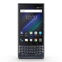 BlackBerry KEY2 LE (BBE100-4) Dual SIM 64GB SIMフリー 並行輸入品 (Slate/ブラック)