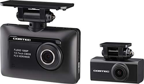 コムテック 前後2カメラ ドライブレコーダー ZDR-015...