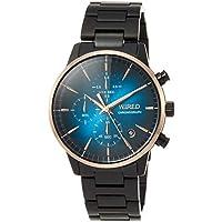 [ワイアード]WIRED 腕時計 WIRED BLUE ENCOUNTコラボレーションモデル 限定1,100本 ブルー文字盤 10気圧防水 AGAT724 メンズ