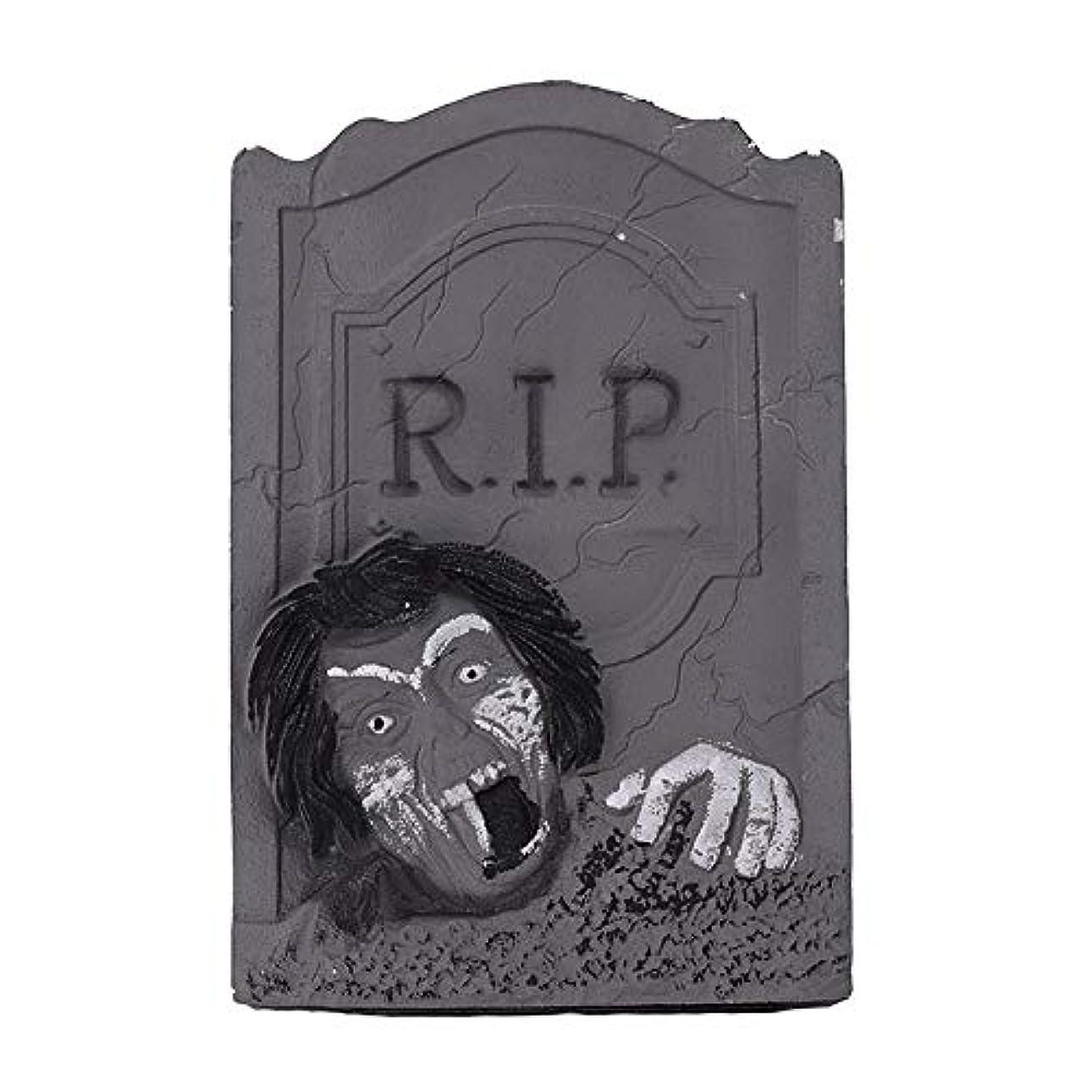 領事館電話する展望台ETRRUU HOME ハロウィーンの装飾新しい墓石バーKTVお化け屋敷秘密の部屋ホラー装飾品写真の小道具