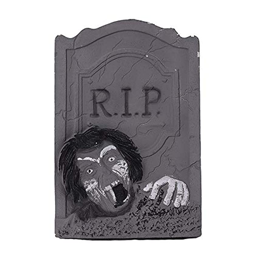 貢献折り目引退したETRRUU HOME ハロウィーンの装飾新しい墓石バーKTVお化け屋敷秘密の部屋ホラー装飾品写真の小道具