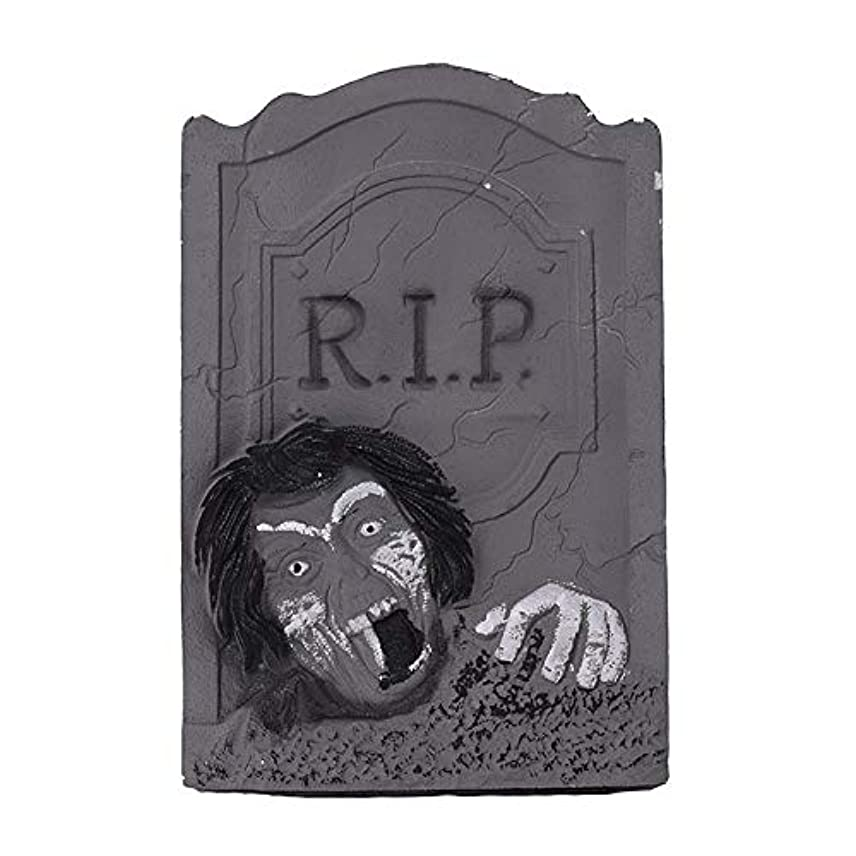 シリーズライナー発送ETRRUU HOME ハロウィーンの装飾新しい墓石バーKTVお化け屋敷秘密の部屋ホラー装飾品写真の小道具