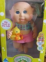 Cabbage Patch Kids Tiny新生児スプラッシュ' n Fun人形( Caucasian、青い目)