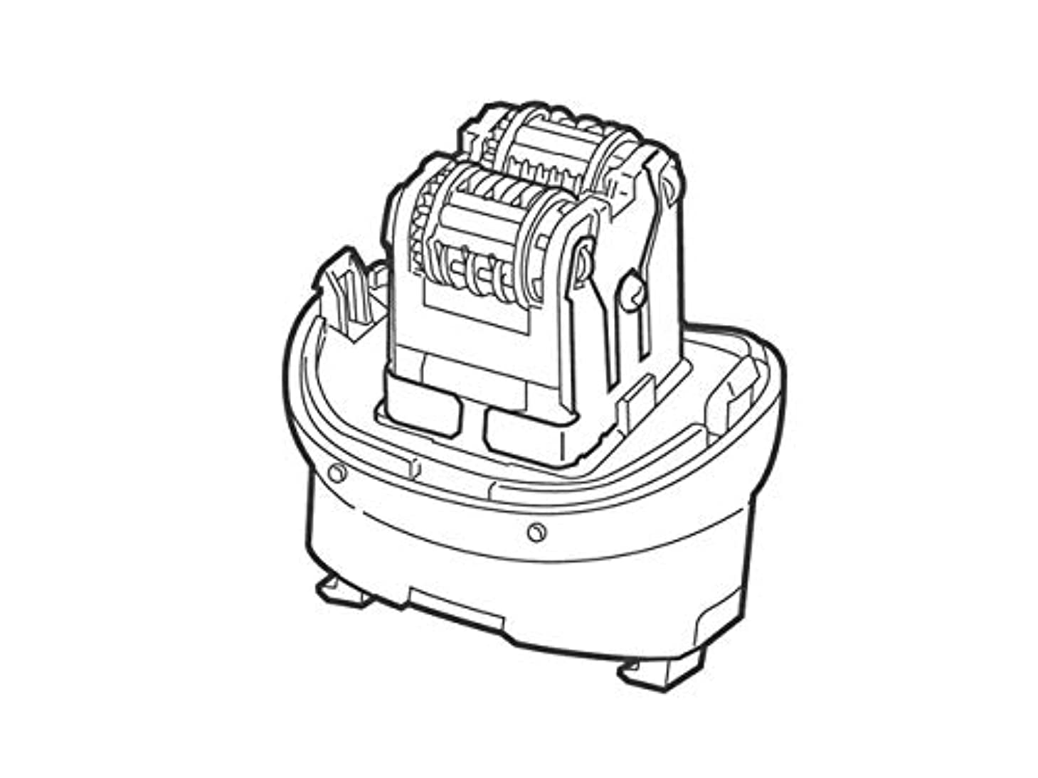 巨大な支配する代数Panasonic ワキ用脱毛ヘッド駆動部 ESWD93W4057
