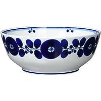 白山陶器 ボールLL 青 (約)φ21.5×8cm  ブルーム BLOOM 波佐見焼 日本製