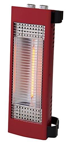APIX 2ウェイカーボンヒーター(400W) 「縦置き/横置き自由自在」 マットレッド ACH-667-RD