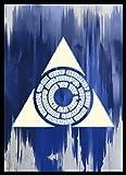 マジック:ザ・ギャザリング プレイヤーズカードスリーブ 『ラヴニカの献身』 《アゾリウス評議会》 (MTGS-058)