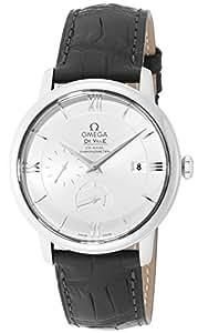 [オメガ]OMEGA 腕時計 デ・ビル グレー文字盤 コーアクシャル自動巻 アリゲーター革ベルト 424.13.40.21.02.001 メンズ 【並行輸入品】