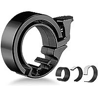 【自転車ベル】 Lifinsky ハンドルベル 隠れる式 ハンドルリング 超軽量 サイクルベル 澄んだ音色 22.2-31.8mm径対応