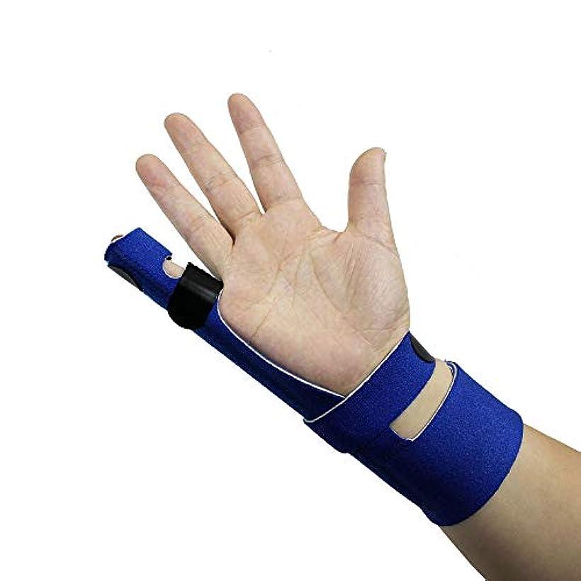 トランペットトランペット病弱フィンガーエクステンションスプリント、腱炎の痛みの軽減、トリガーフィンガー、マレットフィンガー、関節炎フィンガースプリントの指の骨折または骨折