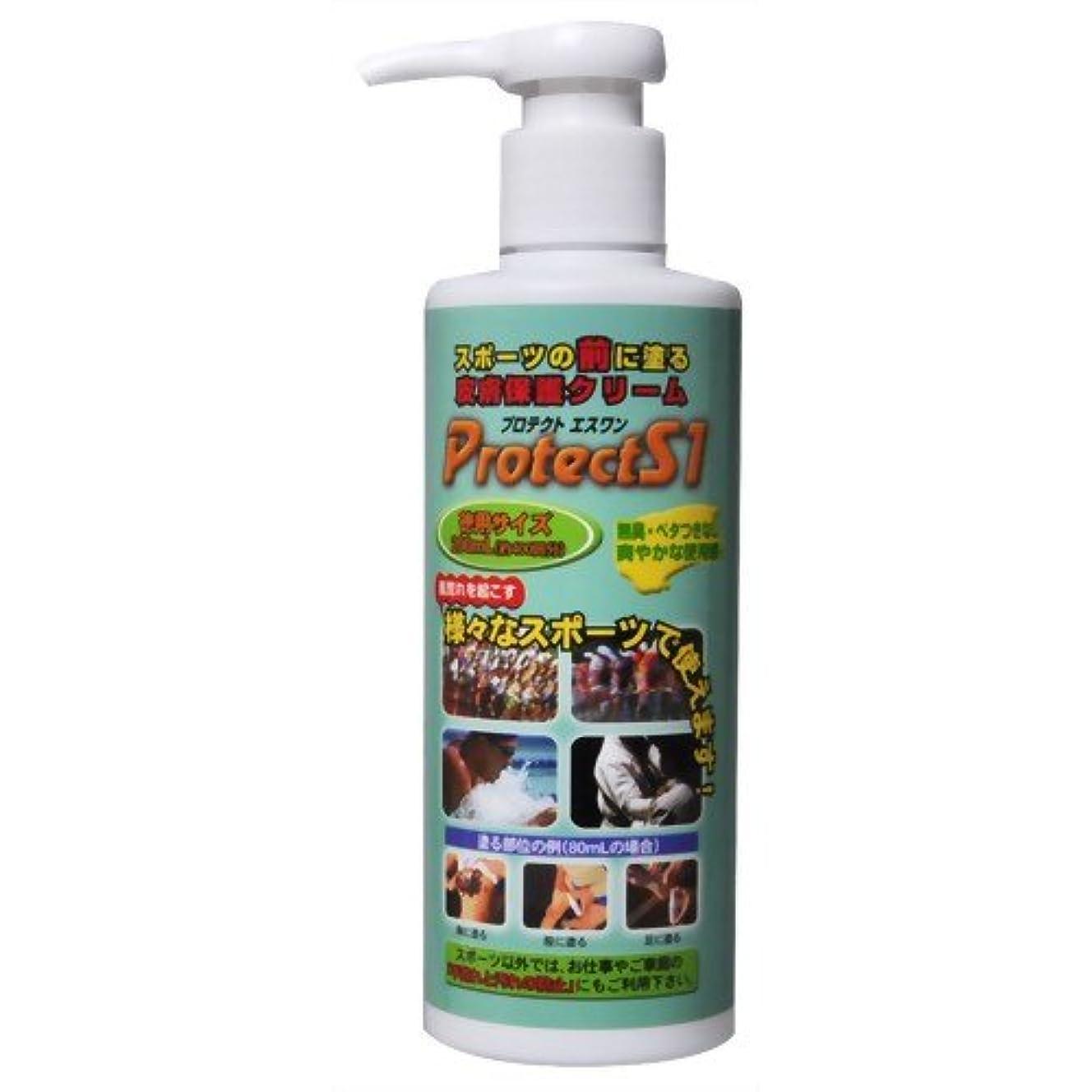 島トロイの木馬勇気Protect S1 スポーツ摩擦皮膚保護クリーム 200ml
