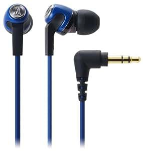 audio-technica 10 COLORS カナル型イヤホン ブルー ATH-CK323M BL