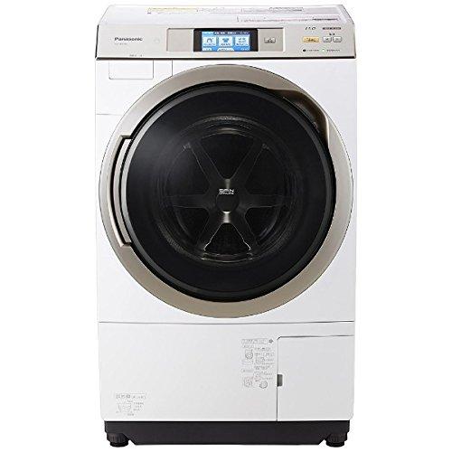 パナソニック 11.0kg ドラム式洗濯乾燥機【左開き】クリスタルホワイトPanasonic エコナビ ナノイー 即効泡洗浄 温水泡洗浄 NA-VX9700L-W