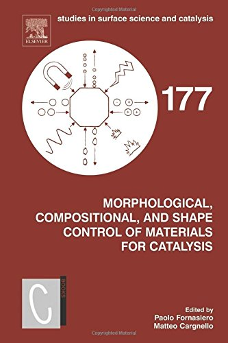 Morphological, Compositional, and Shape Control of Materials for Catalysis, Volume 177 (Studies in Surface Science and Catalysis)