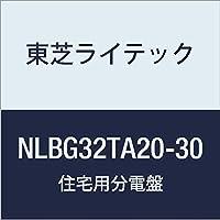 東芝ライテック Nシリーズ 分岐漏電ブレーカ OC付 2P2E 20A NLBGタイプ NLBG32TA20-30