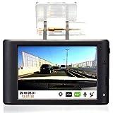 LG Innotek Alive ドライブレコーダー 大型3.5インチタッチパネル搭載、HD画質 お持ちのリアカメラの映像も録画できる LGD-A100