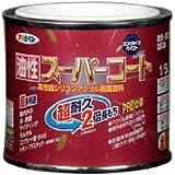 アサヒペン 油性スーパーコート 1/5L 赤さび