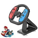 【2020最新版】 Nintendo Switch ハンドル Chayoo マリオカート8 デラックス スイッチレーシングゲーム Joy-Conハンドル 吸盤ブラケットハンドル Joy-Con コントローラー 専用 NSゲームハンドル ハンドルキャリッジ