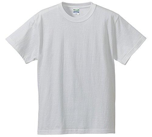 (ユナイテッドアスレ)UnitedAthle 5.6オンス ハイクオリティー Tシャツ 500101 001 ホワイト S
