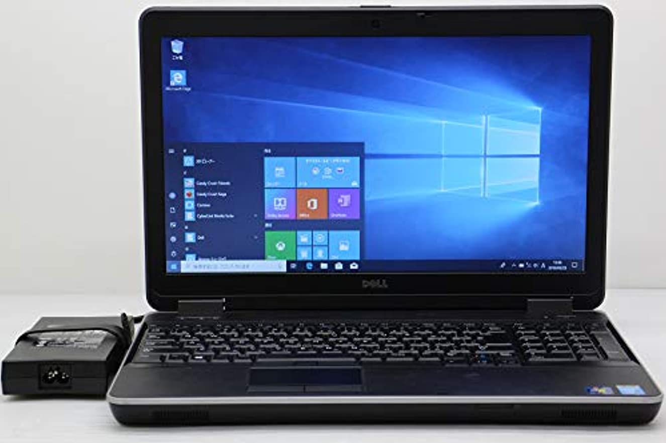 曲線家事刑務所【中古】 DELL Latitude E6540 Core i5 4300M 2.6GHz/4GB/256GB(SSD)/Multi/15.6W/FWXGA(1366x768)/Win10