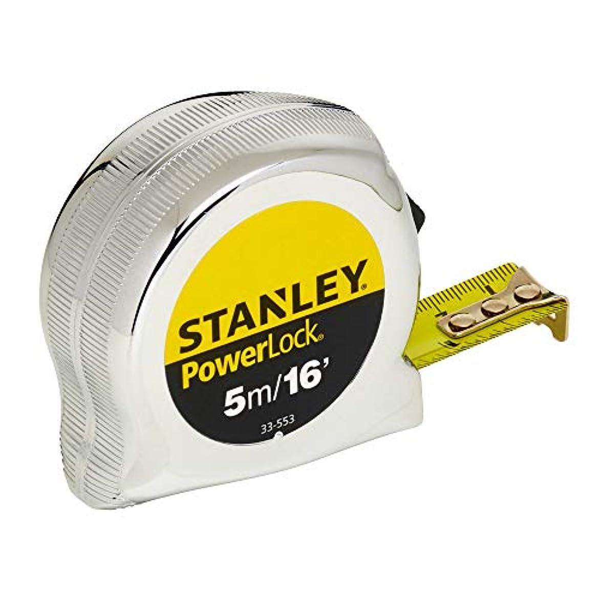 聴覚精査マーカーStanley 0-33-553 Micro Powerlock Tape, 5m Length x 19mm Width by Stanley