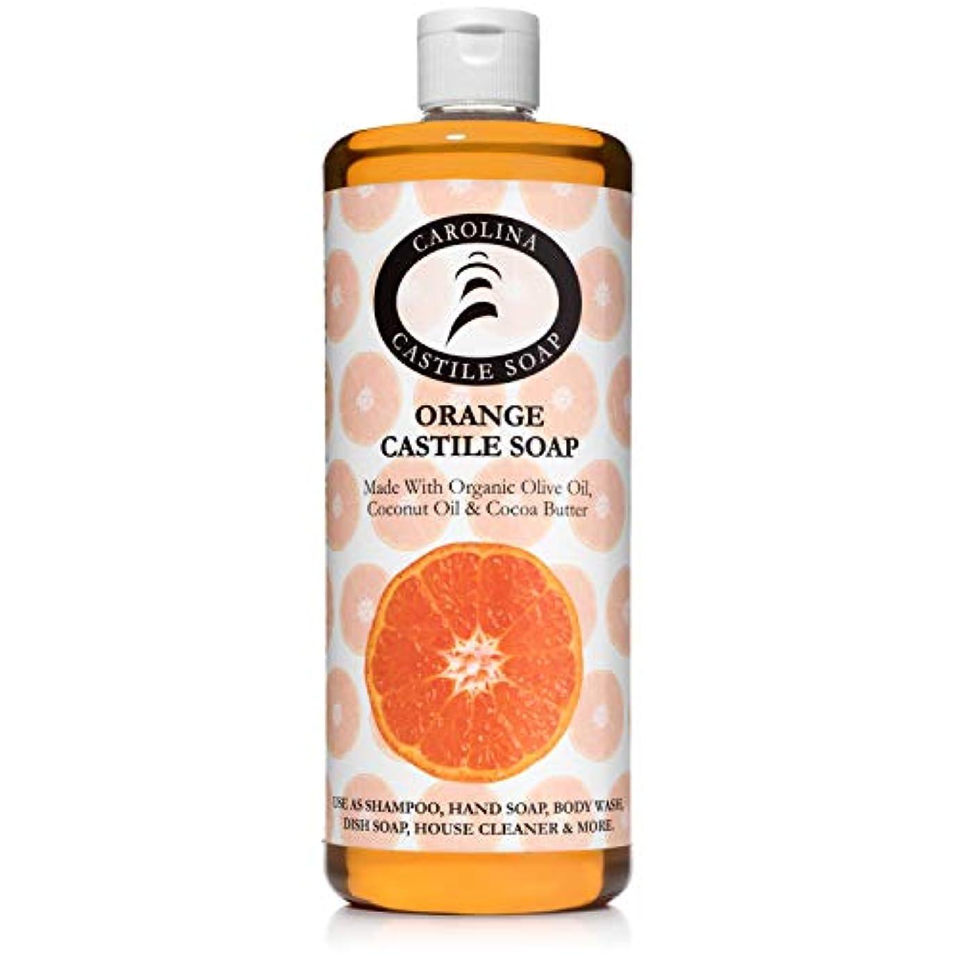 嫌悪緩むスコットランド人Carolina Castile Soap オーガニックカカオバターオーガニック 32オズ