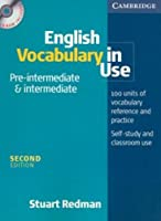 English Vocabulary In Use: Pre-intermediate & Intermediate Book and CD-ROM Pack