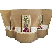 ろのわ 有機の国産小麦粉セットB 糖質カットのお菓子作り (薄力粉・全粒×3袋)