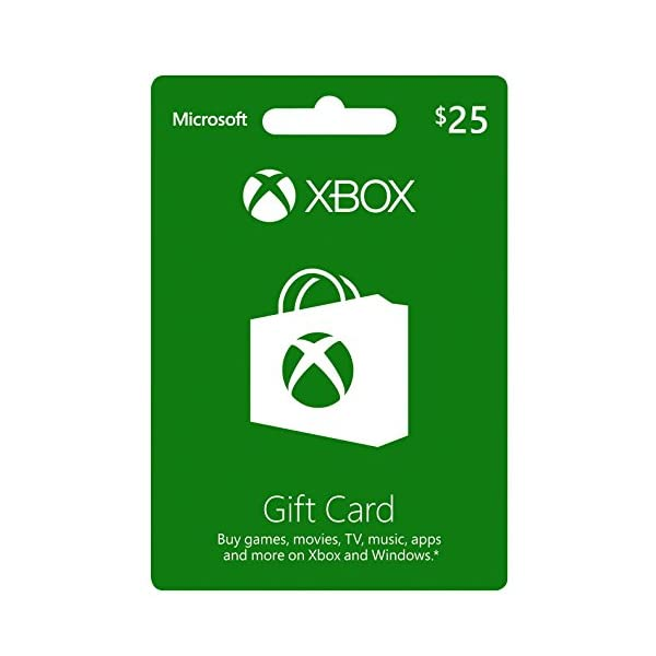 XBOX GIFT CARD $25 (輸入版:北米)の商品画像