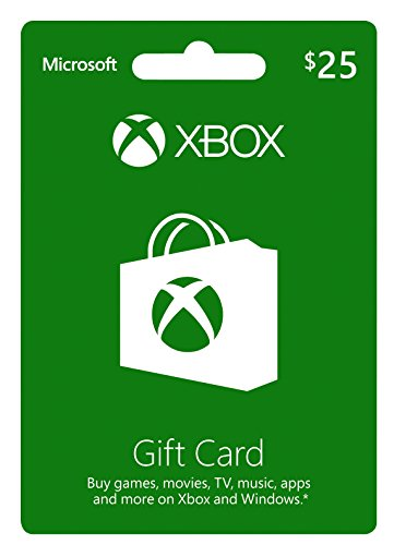 XBOX GIFT CARD $25 (輸入版:北米)
