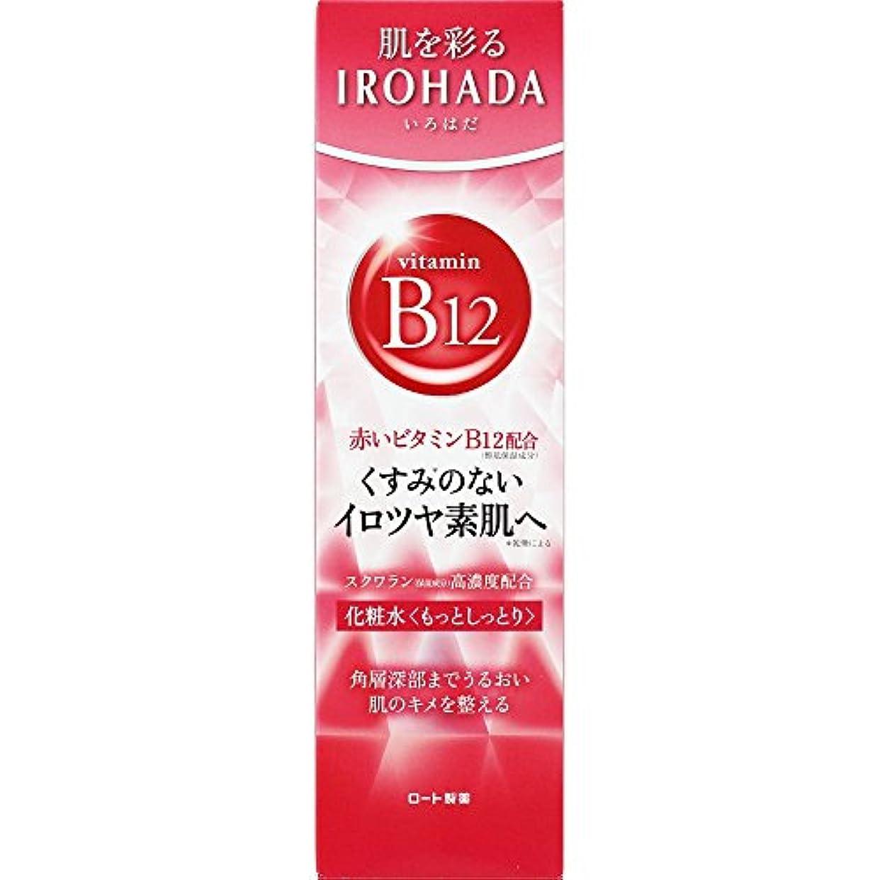 着服居間店主ロート製薬 いろはだ (IROHADA) 赤いビタミンB12×スクワラン配合 化粧水もっとしっとり 160ml
