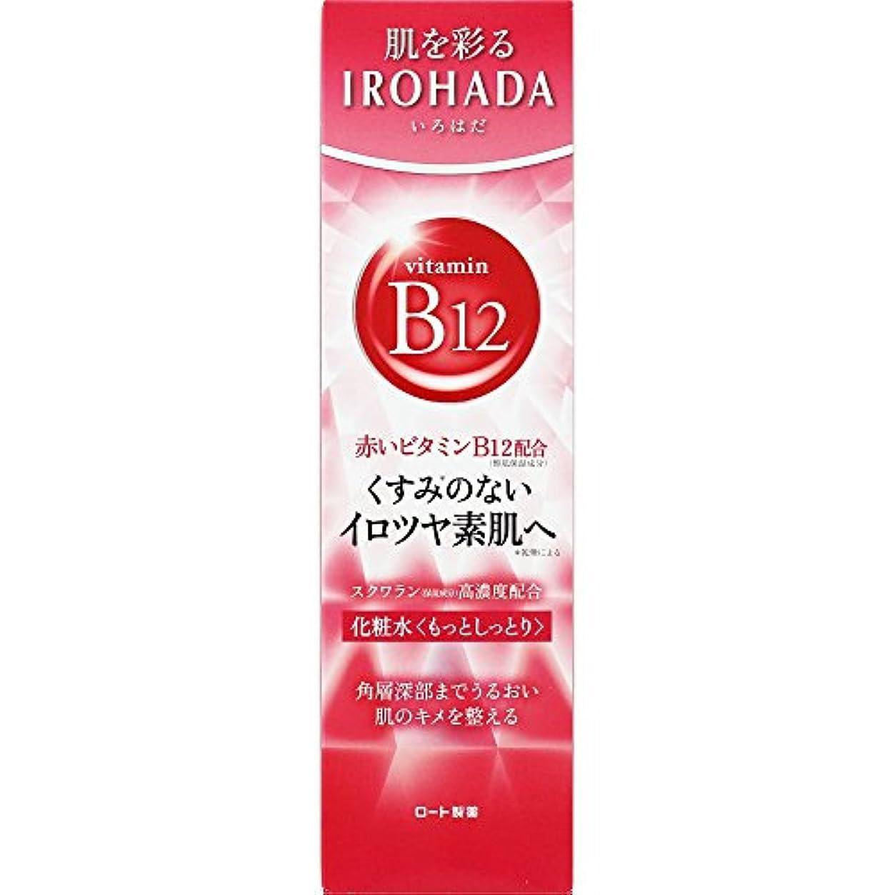 訪問インタビューイルロート製薬 いろはだ (IROHADA) 赤いビタミンB12×スクワラン配合 化粧水もっとしっとり 160ml