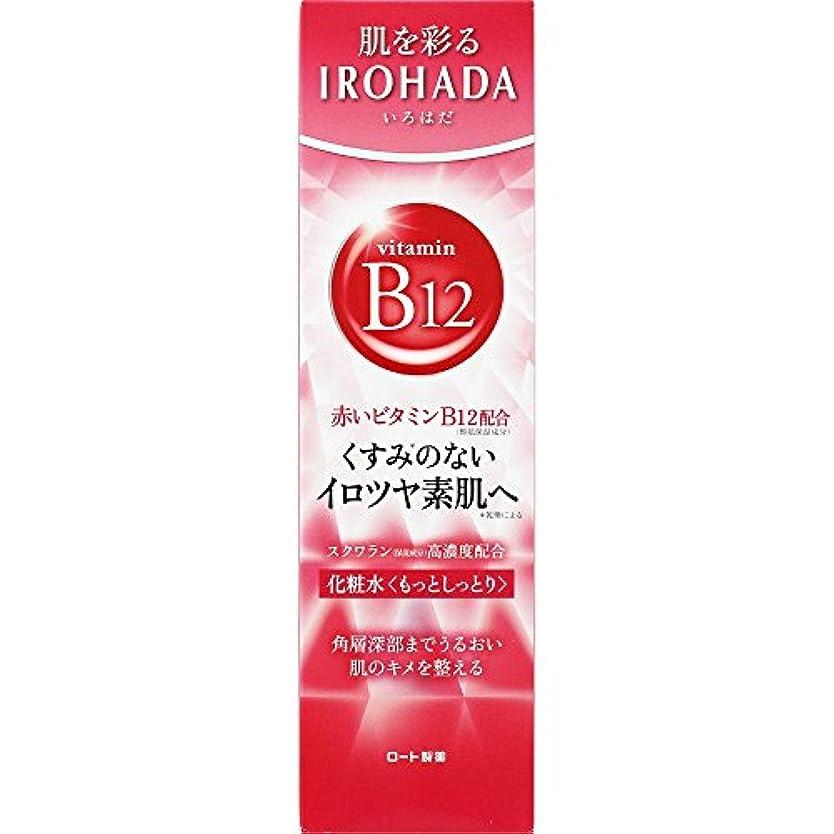 枕定刻同種のロート製薬 いろはだ (IROHADA) 赤いビタミンB12×スクワラン配合 化粧水もっとしっとり 160ml