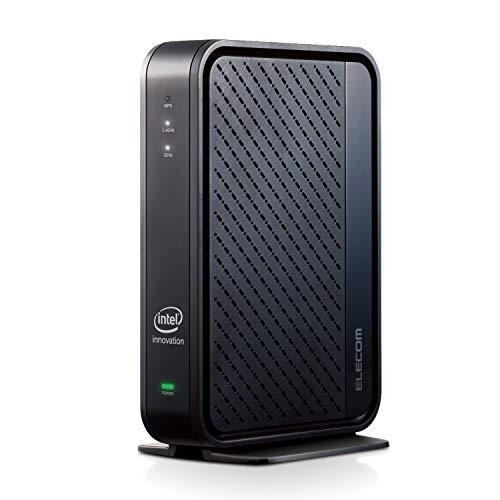 エレコム WiFi 無線LAN ルーター Wi-Fi6 11ax 11ac 2402+574Mbps IPv6対応 (iPhone11/Pro/ProMax 動作確認済み) WRC-X3000GSA