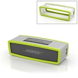 [XCSOURCE]ソフトバンパーポーチカバーケース ボックスバッグ Bose SoundlinkミニBluetoothスピーカー用 グリーン  PC646