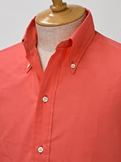Resolute x Individualized Shirts Twill Buttondown Shirt: Salmon Pink