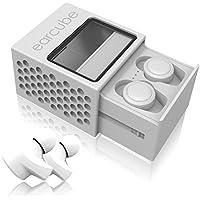 完全ワイヤレスイヤホン earcube (イヤーキューブ) 最小最軽量4.5g Bluetooth4.2 IPX4防水防汗 スポーツ対応 AAC 技適認証済 (2-ホワイト)