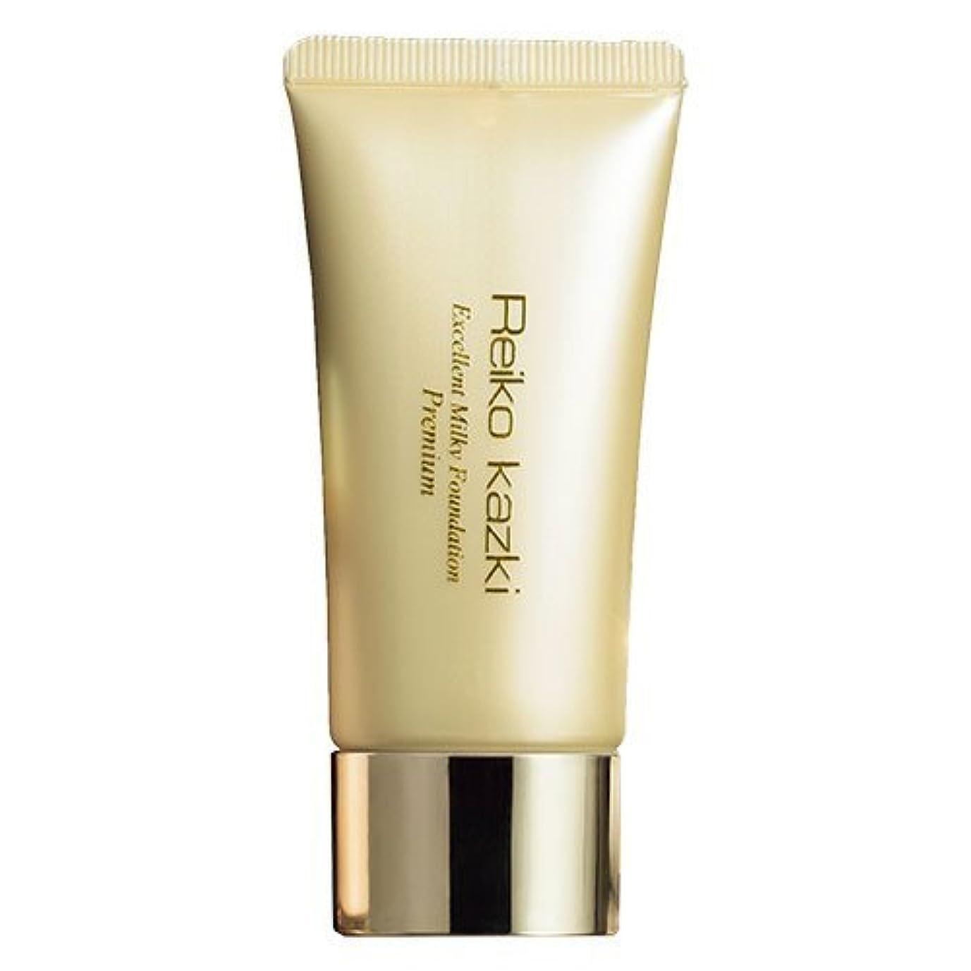 対利点トークかづきれいこ 薬用エクセレントミルキーファンデーション プレミアム (化粧下地) SPF31/PA+++で紫外線をカット。美白有効成分を配合した化粧下地。