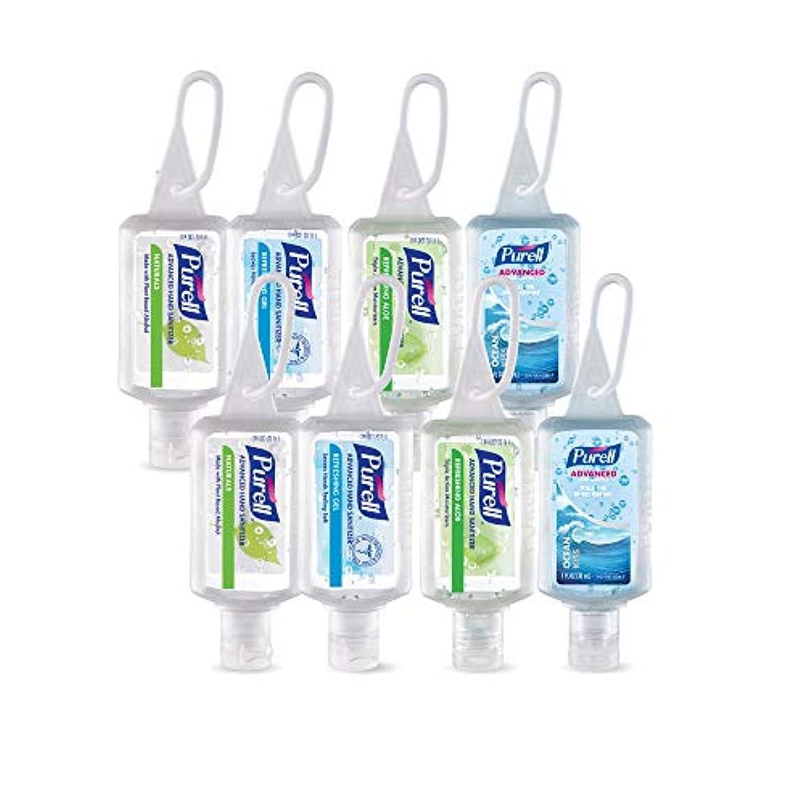 コンテンツ内部イヤホンPurell高度なインスタントHand Sanitizer – トラベルサイズJellyラップポータブルSanitizerボトル、香りつき