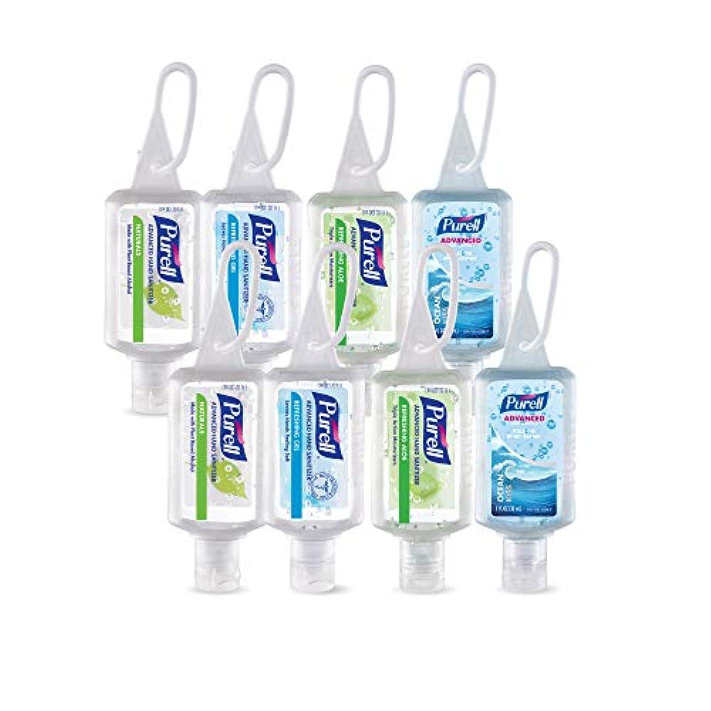 情熱的パイプライン所属Purell高度なインスタントHand Sanitizer – トラベルサイズJellyラップポータブルSanitizerボトル、香りつき