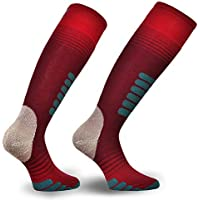 Eurosocks Ski Supreme Ski Socks, Skin Like Fit and Feel, Ultra Smooth No Bunching, Micro-Supreme Warmth - 0412 On The provided Main ASIN 0412