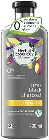 Herbal Essences Bio Renew Black Charcoal Shampoo, 400 ml