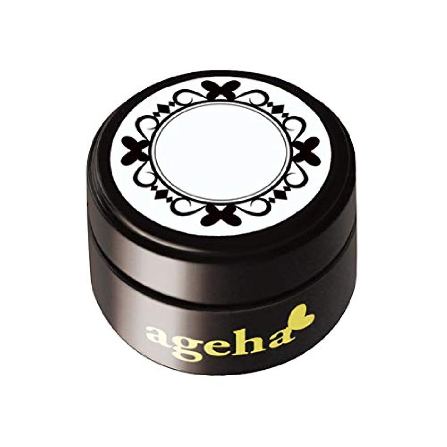 うれしい倒錯傾斜ageha カラージェル シャープライナー ホワイト 2.7g UV/LED対応