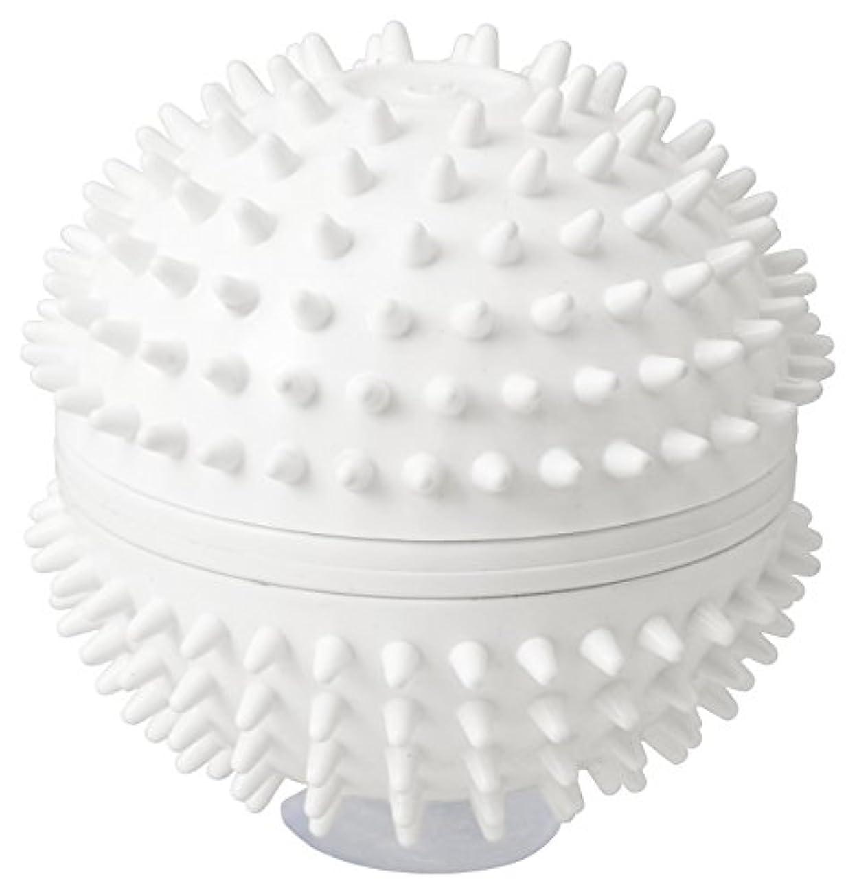 剪断開いたラドンナ CUTENSIL 振動リラクゼーション リラクボール CU17-RB ホワイト